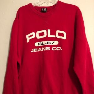 Polo Jeans Ralph Lauren Pullover Sweater Spell Out